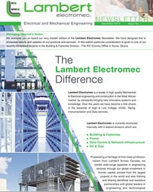 THE LAMBERT ELECTROMEC DIFFERENCE