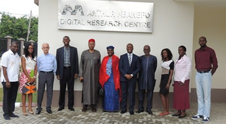 The UNIVERSITY OF LAGOS E-LIBRARY: ARTHUR MBANEFO DIGITAL RESEARCH CENTER 2014, LAGOS NIGERIA